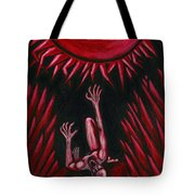 Fall Of Icarus Tote Bag