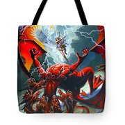 Fall Of The Hydra Tote Bag