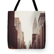 Fall On 42nd Street Tote Bag