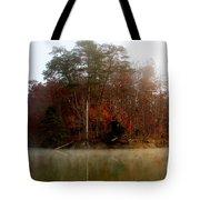 Fall On Melton Hill Lake Tote Bag