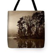 Fall On Melton Hill Lake V Tote Bag