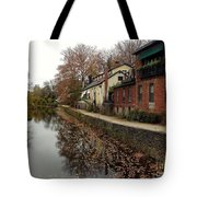 Fall On The Canal Tote Bag