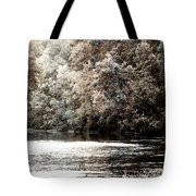 Fall On The Current Tote Bag