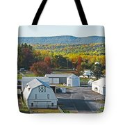 Fall On The Farm Tote Bag