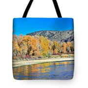 Fall On The Snake River Tote Bag