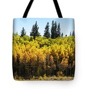 Fall Panorama Tote Bag