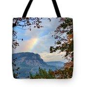 Fall Rainbow Tote Bag