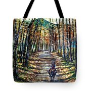 Fall Ride Tote Bag