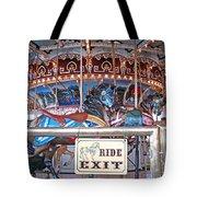 Fall River Ride Exit Tote Bag