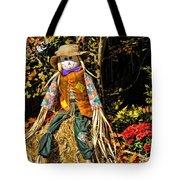 Fall Scarecrow Tote Bag