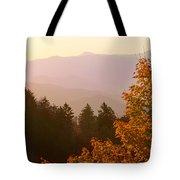 Fall Smoky Mountains Tote Bag