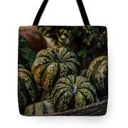 Fall Squash Harvest Tote Bag