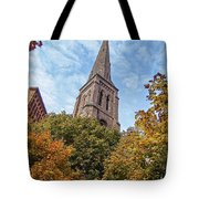 Fall Steeple Tote Bag
