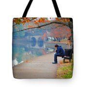 Fall Thoughts Tote Bag