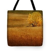 Fall Tree And Field #1 Tote Bag