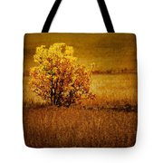 Fall Tree And Field #2 Tote Bag