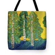 Fall Turn At Sunset Tote Bag