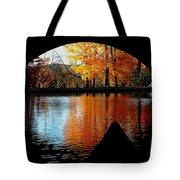 Fall Under The Bridge Tote Bag
