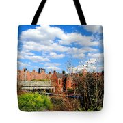 Fall Walk On The High Line Tote Bag