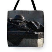 Fallen Artilleryman Tote Bag
