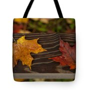 Fallen As If Placed Tote Bag