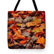 Fallen Colors Tote Bag