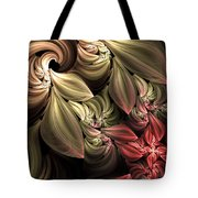 Fallen From Grace Abstract Tote Bag