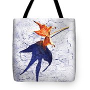 Fallen Leaf King Size Shadow Tote Bag