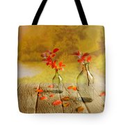 Fallen Leaves Tote Bag by Veikko Suikkanen