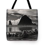 Fallen Sand Castles Tote Bag