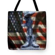 Fallen Soldiers Memorial Tote Bag