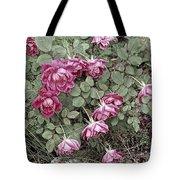 Fallin' Roses Tote Bag