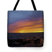 Falling Away Tote Bag