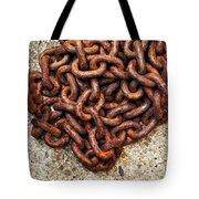 Falling Chain Tote Bag