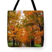 Falling For Country Farm Tote Bag