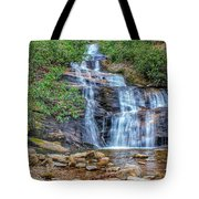 Falling From Mount Mitchell Tote Bag