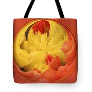 Falling Into A Flower Tote Bag