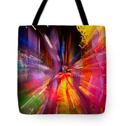 Falling Into Glass Tote Bag