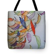 Falling Into Place Tote Bag