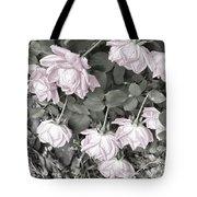 Falling Roses Tote Bag