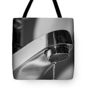 Falling Water Drop Tote Bag