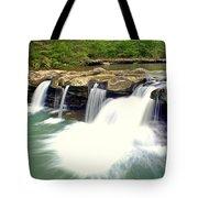 Falling Waters Falls 4 Tote Bag