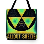 Fallout Shelter Abstract 2 Tote Bag