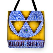Fallout Shelter Abstract 4 Tote Bag