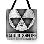 Fallout Shelter Wall 10 Tote Bag