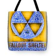 Fallout Shelter Wall 3 Tote Bag