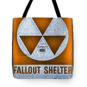 Fallout Shelter Wall 8 Tote Bag
