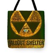 Fallout Shelter Wall 9 Tote Bag