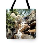 Falls At Jackalope Ranch 2 Tote Bag