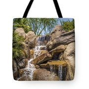 Falls At Jackalope Ranch Tote Bag
